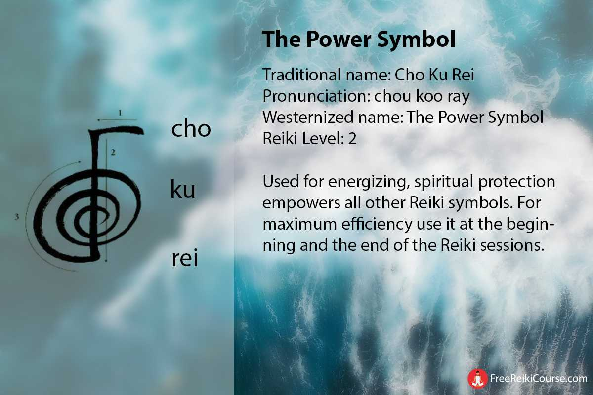 The Power Symbol Cho Ku Rei